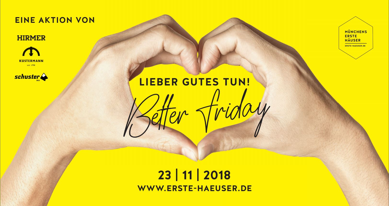 Better Friday statt Black Friday