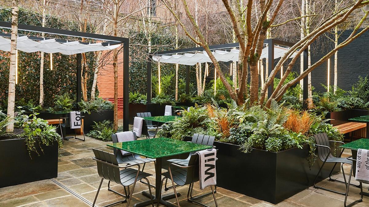 Browns Courtyard
