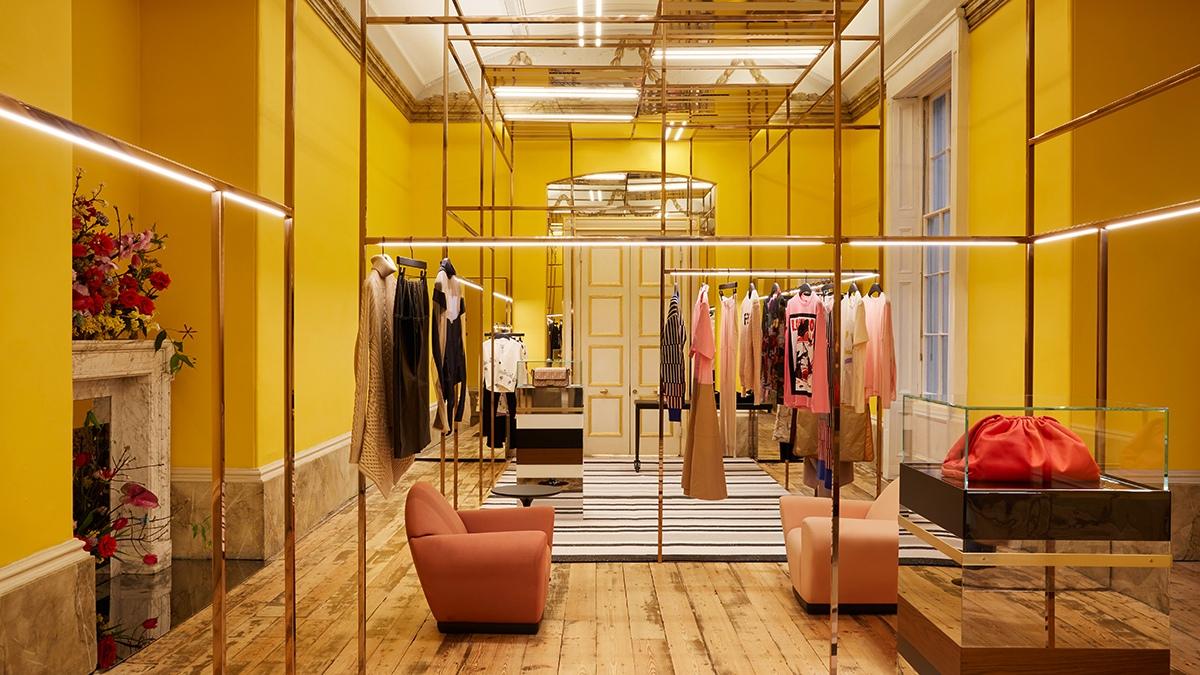 Browns Womenswear Yellow Room